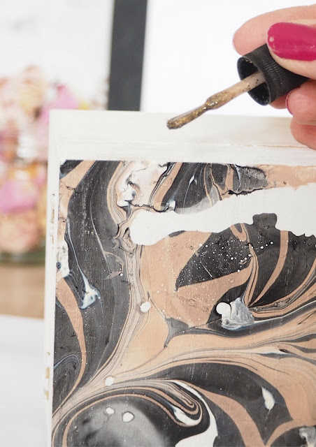 Make Your Own Marbled Box DIY