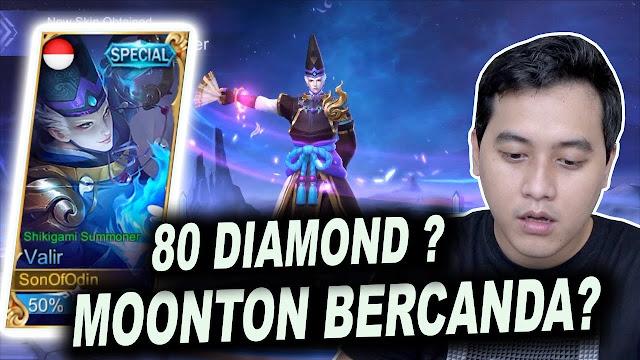 Skin Special Valir Cuma 80 Diamond ! Moonton Becanda ? 5