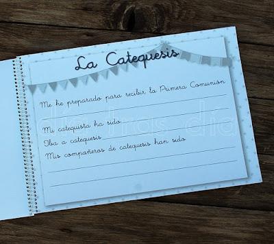 Libro de firmas personalizado Primera Comunión