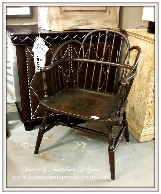 Laurie's Home Furnishings-Famrhouse-Wood Chair- From My Front Porch To Yours