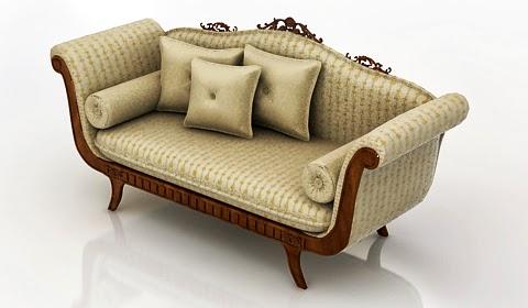 Classic Sofa 3d model free