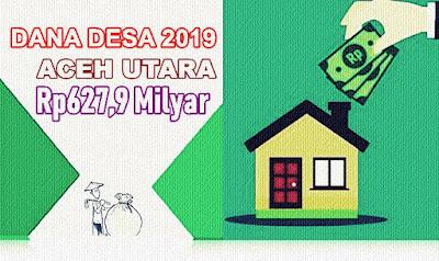 Jumlah Pagu Dana Desa 2019 Aceh Utara Rp627,9 milyar