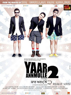 Yaar Annmulle 2 2017 Punjabi Movie Mobile HDRip Hevc [170MB]