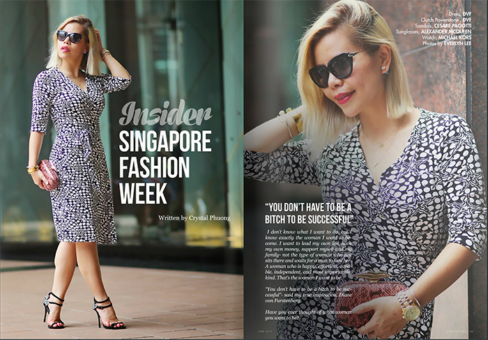 Singapore Fashion Week Insider Feature- SAUCEink magazine