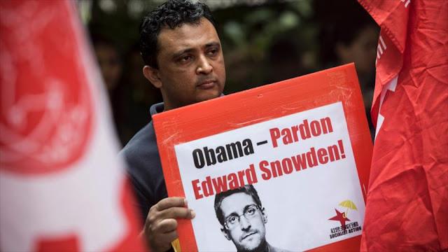 Activistas en Hong Kong piden perdón para Snowden