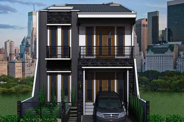 Rumah Minimalis Type 36 2 Lantai Model Terbaru