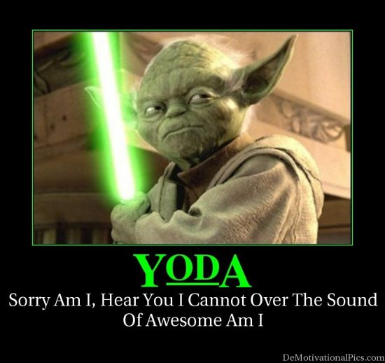 Simply's Blog: Y Is For Yoda
