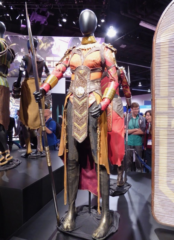 Danai Gurira Black Panther Okoye Dora Milaje costume