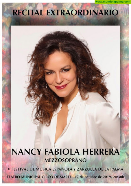 La mezzosporano Nancy Fabiola Herrera, 'La Carmen del siglo XXI', actuará el próximo jueves en el Teatro Circo de Marte