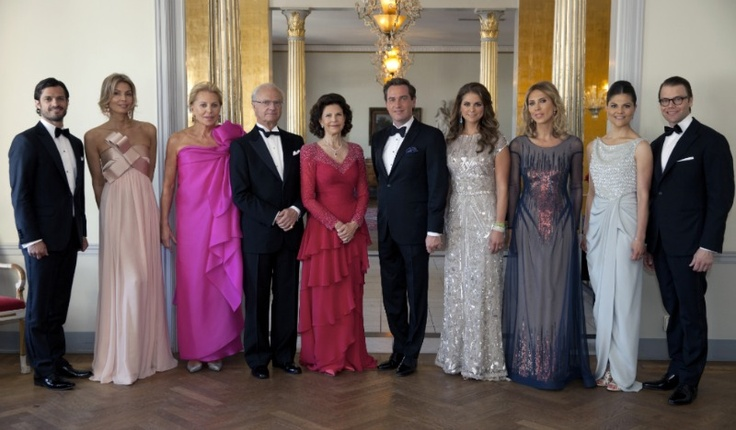 Wedding Celebrations of Princess Madeleine and Chris O'Neill-  Pre-Wedding  Dinner