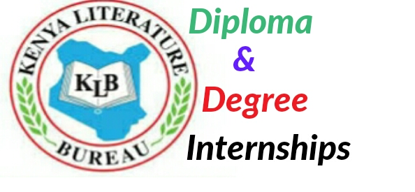 Kenya Literature Bureau Internships diploma and degrees holders