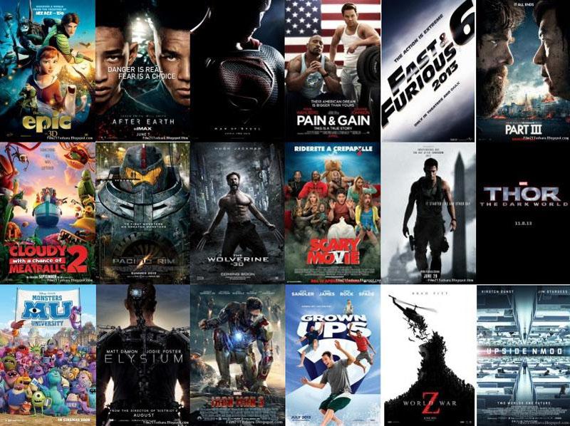ANANG JAURI TEX: Daftar 50 Film Bioskop Terbaru 2013