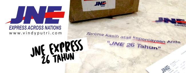 JNE Express 26 Tahun