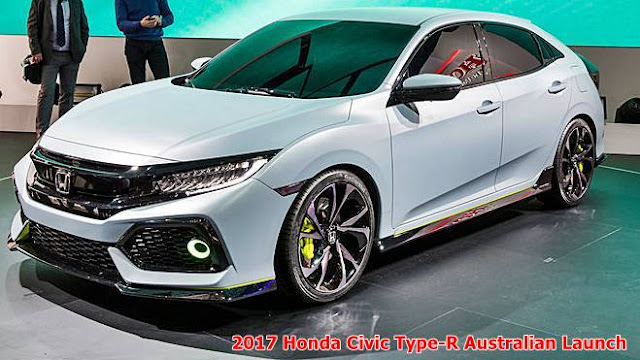 2017 Honda Civic Type-R Australian launch