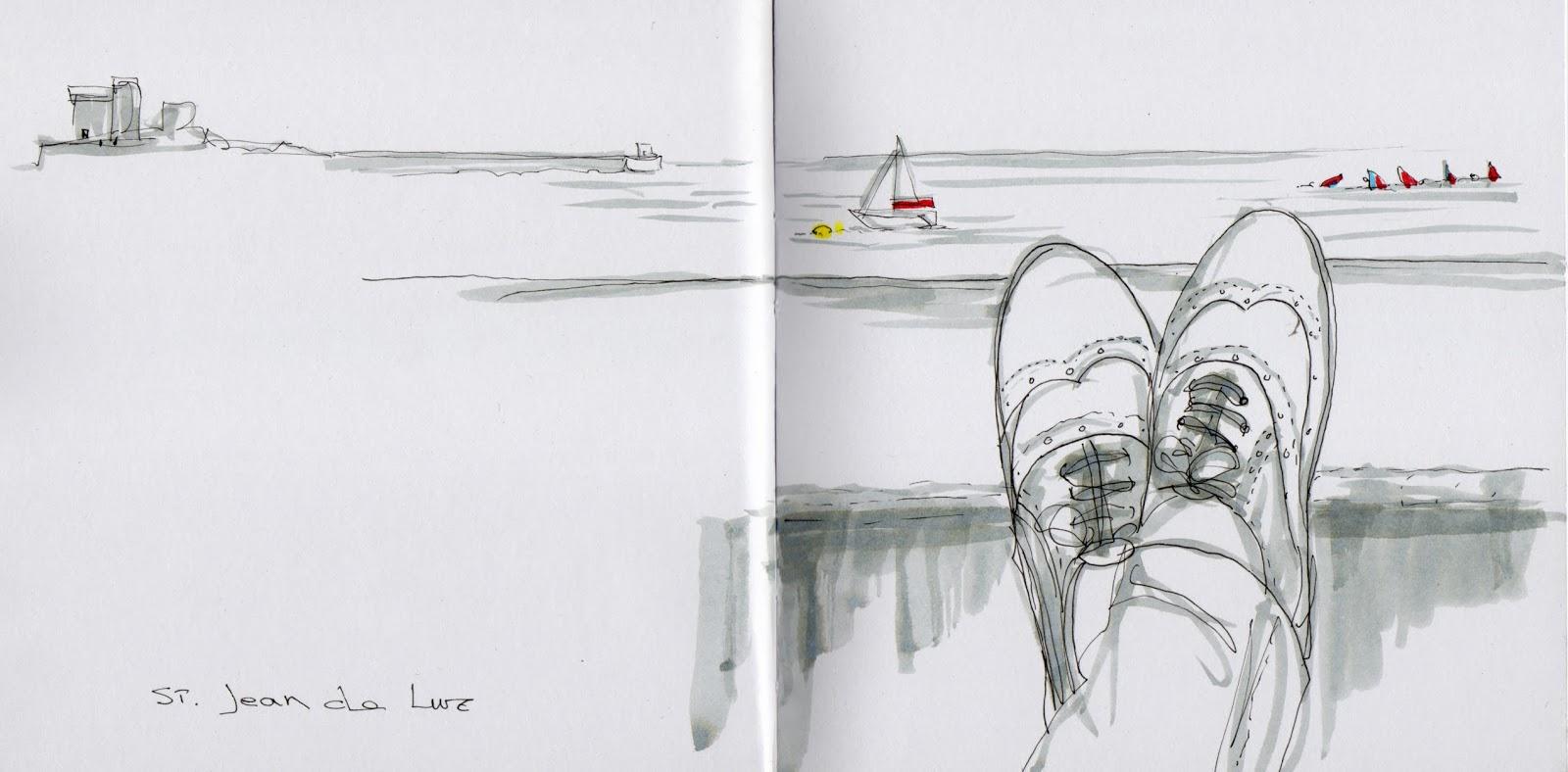 Concurso De Dibujo Urbano En Libreta Fnac Madrid: De Vuelta Con El Cuaderno: 10/01/2013