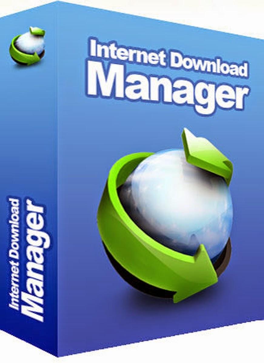 صورة تصف شعار برنامج التحميل الشهير انترنت داونلود مانجر عربي