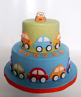 Terrific Cakesophia Cars For Carters First Birthday Party Funny Birthday Cards Online Hendilapandamsfinfo