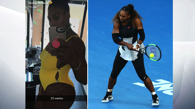 Serena Williams is Pregnant When She Won the Australian Open