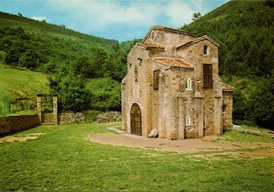 San Miguel de Lillo. Postal Alarde, 1972