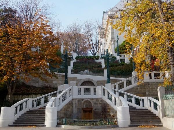 Vienne Vienna Wien strudlhofstiege escalier jugendstil