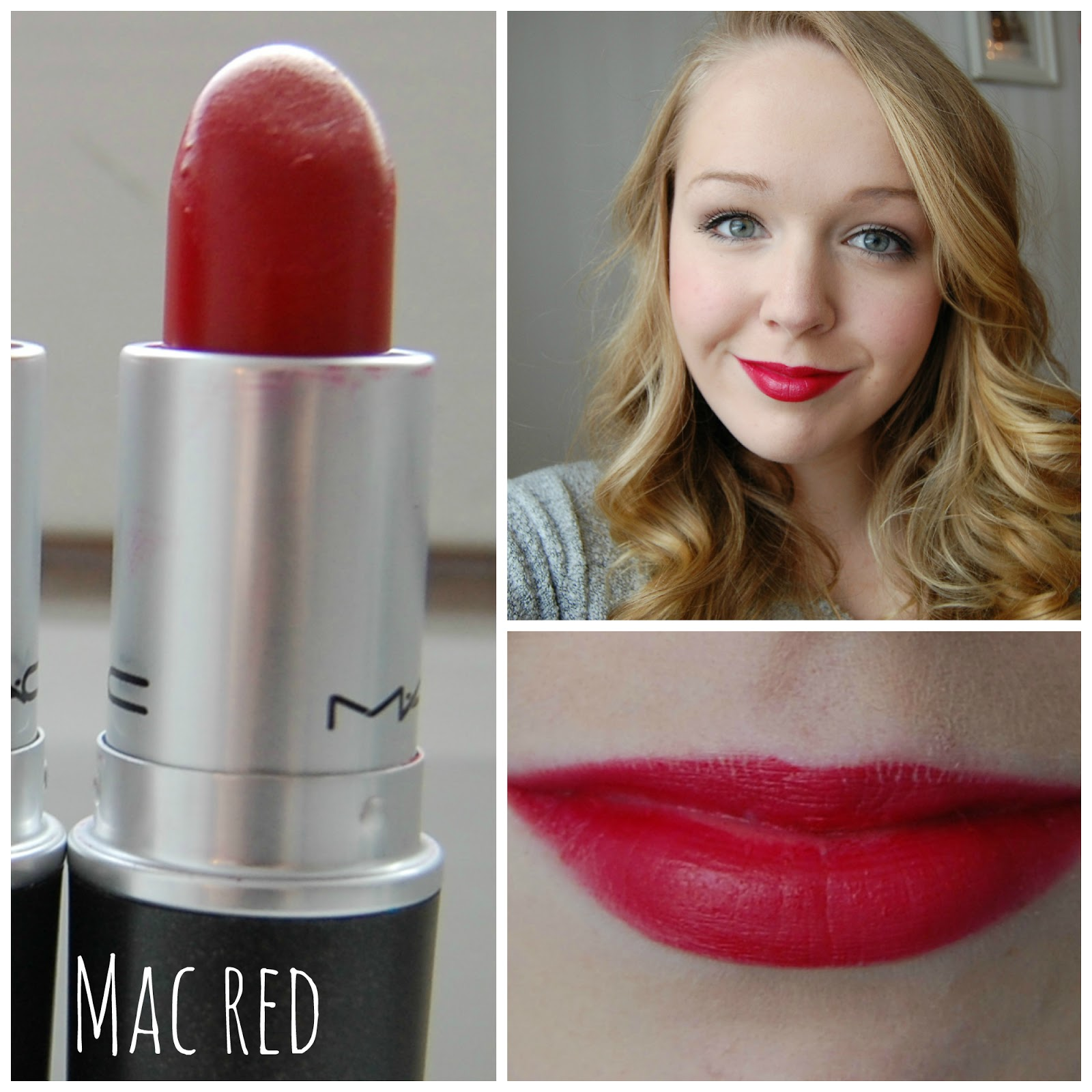 Amalie and June's blog: Mac lipstick swatches