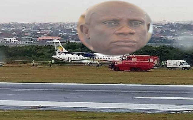 NPP's Nana Obiri Boahen and others in a plane crash at Kotoka International Airport [Full Video]