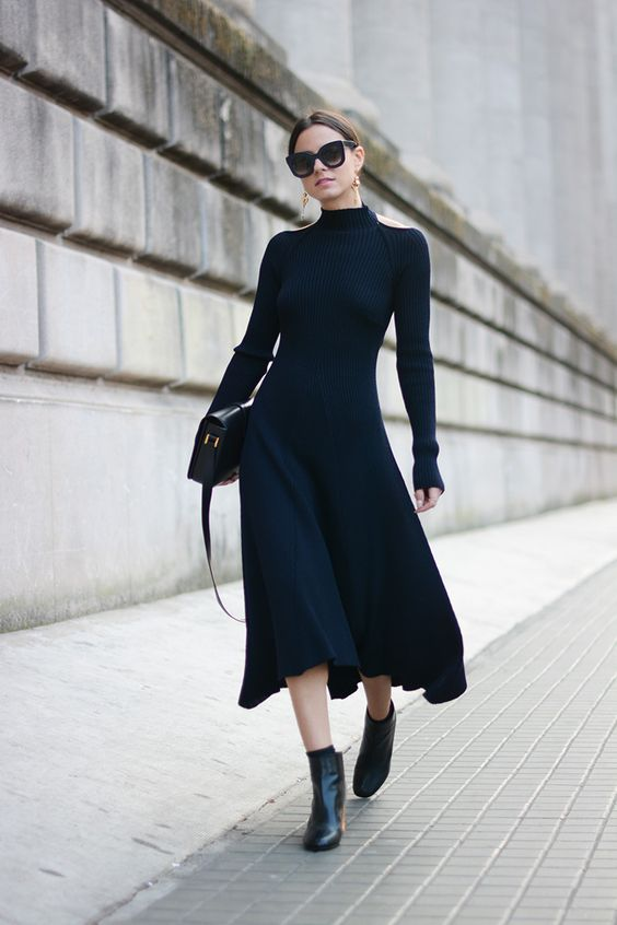 Zina Fashion Vibe - Celine Bow Dress + Sunglasses PFW
