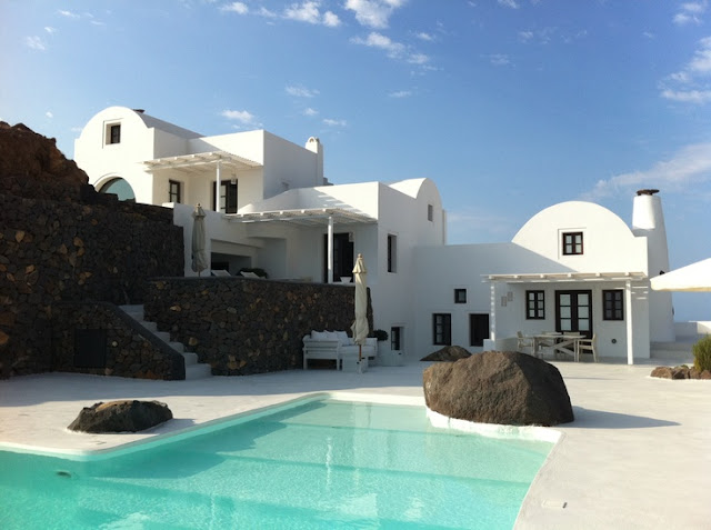 hotel en Santorini