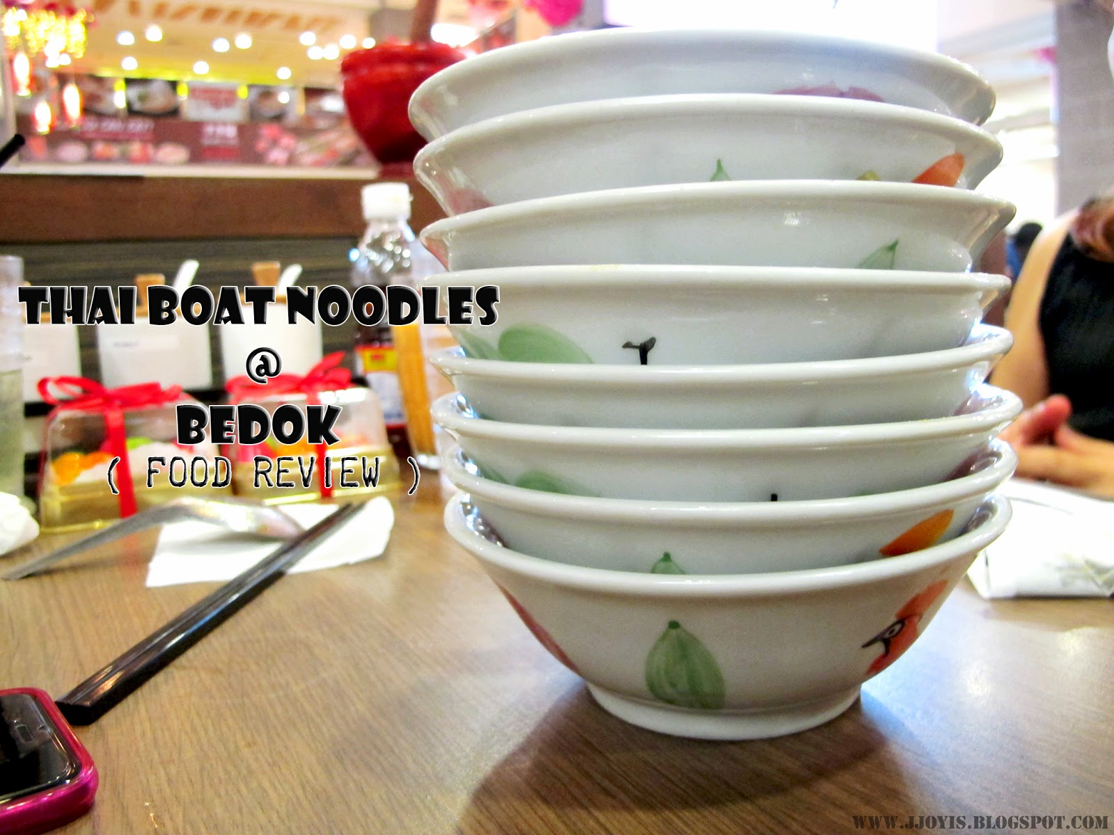thai boat noodles bedok review