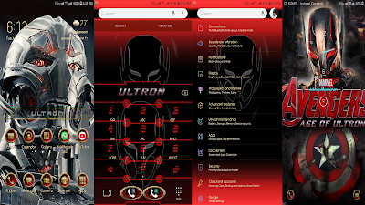Avenger Age of Ultron Samsung Theme apk for Android Oreo & Nougat