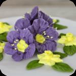 Royal Icing Blumen Torte + Kurs