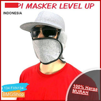 FXN134 Masker Topi Level Up Pelindung BMGShop