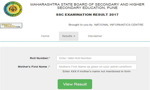 Maharashtra SSC or 10th results 2017
