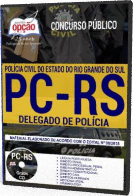 apostila para o concurso PC-RS Delegado de Polícia
