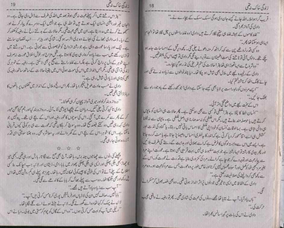 Zindagi Khaak Na Thi By Umme Maryam Forced Marriage Read