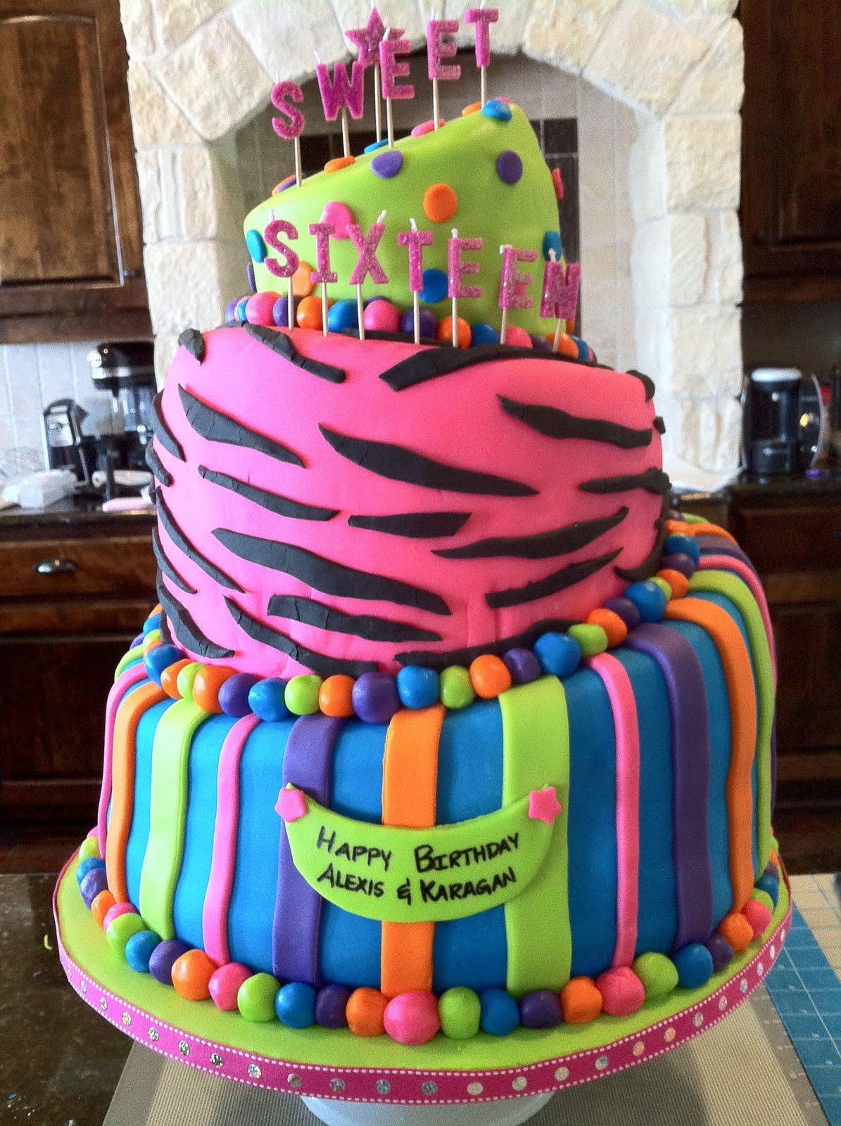 Cakes Amp Canines Sweet 16 Birthday Cake