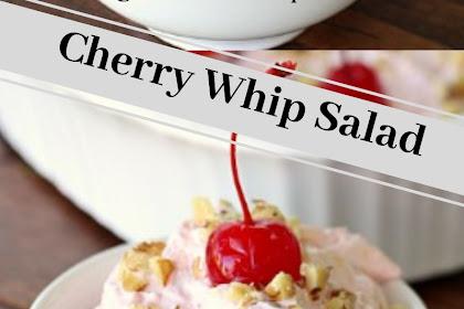 Cherry Whip Salad #christmas #dessert