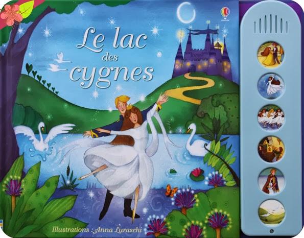 """""""Le lac des cygnes"""" éditions Usborne"""