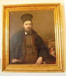 προσωπογραφία του Αλέξανδρου Λυκούργου έργο του Νικηφόρου Λύτρα στο Μουσείο του Πανεπιστημίου Αθηνών