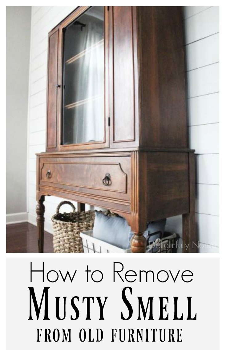 How To Remove Musty Smell From Old Furniture