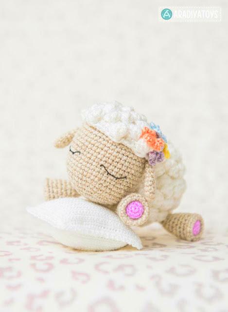 lamb sheep Crochet pattern