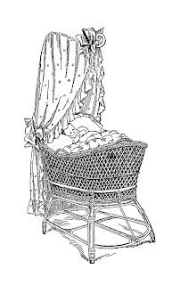 baby bassinet image download vintage