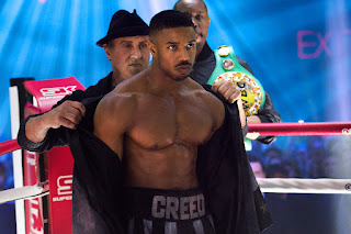Creed II - Michael B. Jordan and Sylvester Stallone