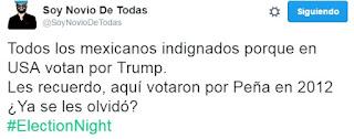 tuit de los que votaron por donald trump