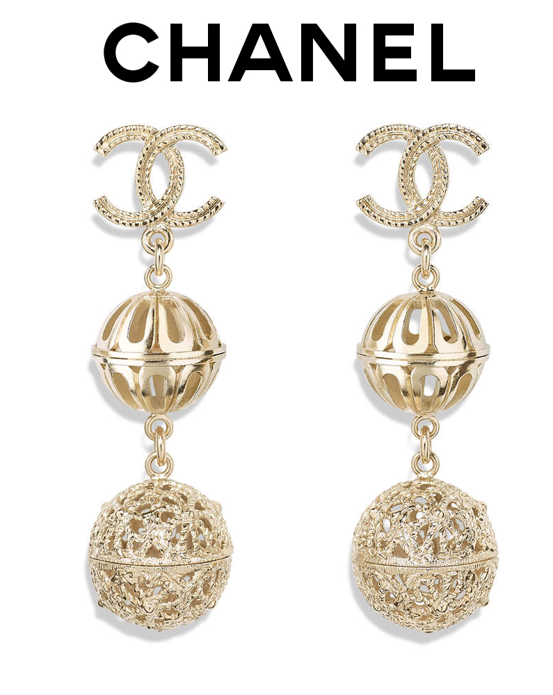CHANEL CRUISE 2017/2018 EARRINGS