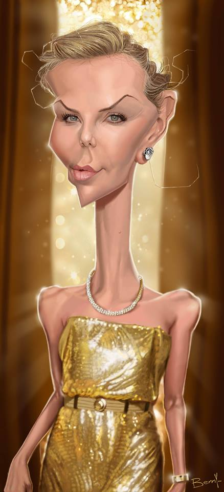 Charlize Theron por Benny Nico