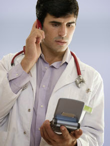 funny doctor phone bad very bad news joke picture