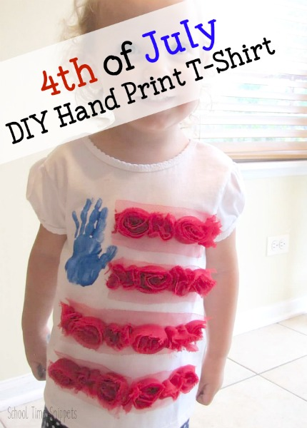 cute 4th of july shirt for girls