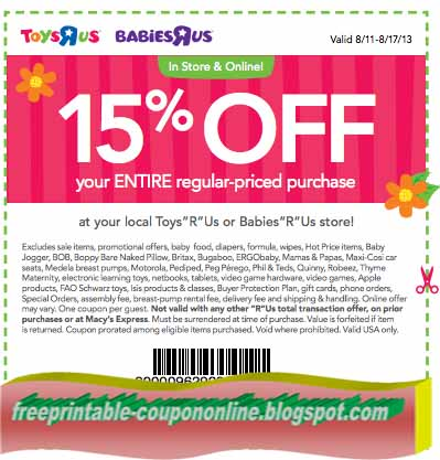 graphic about Babies R Us Coupons Printable named Toddlers r us printable coupon blogspot : Autopartsway canada