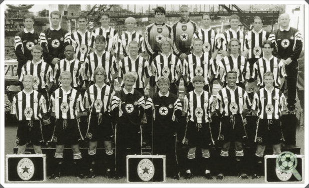 Newcastle 1995-1997